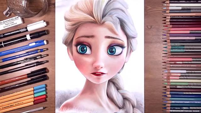 冰雪奇缘-白雪女王-艾莎