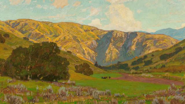 威廉·温特的风景画